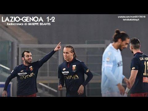 LAZIO-GENOA 1-2 - Radiocronaca di Giuseppe Bisantis (5/2/2018) da Rai Radio 1