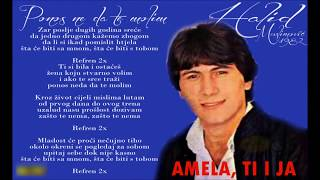 Halid Muslimovic -  Ponos ne da te molim (album 1982)