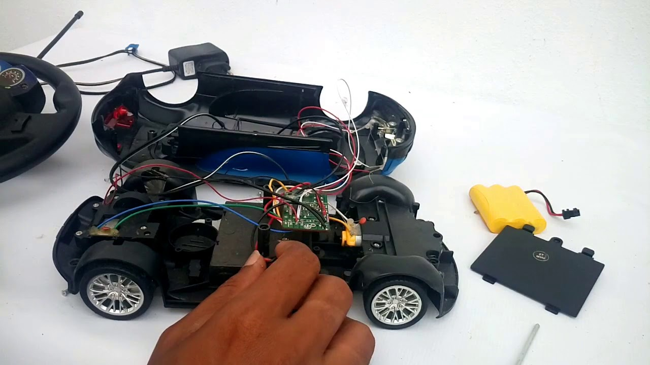 How to Charging RC Remote Control Car Battery without replace | How to  Repair Remote Control Car