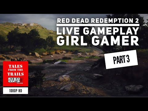Red Dead Redemption 2 Daily Gameplay #3- Live Gameplay Female Gamer | PS4 Pro 1080p thumbnail