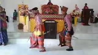 TARI PERANG ASAL FATULEU KUPANG NTT INDONESIA.