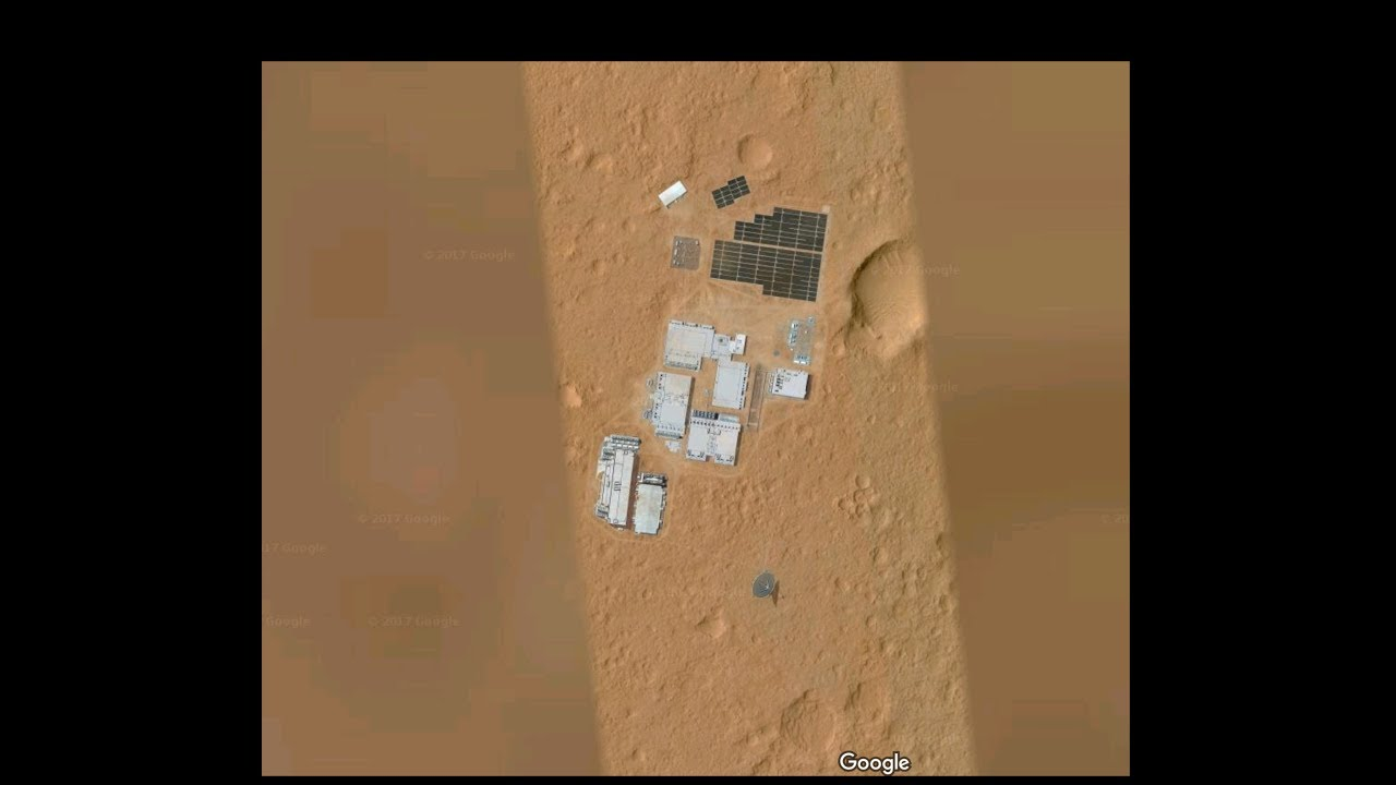 SHOCKING DISCOVERY: Large human base on Mars was found ...