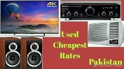 #Amplifier | #Speakers | #LEDTv | #RoomAC | Market Visit & Rates | Lahore Pakistan