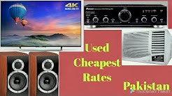 #Amplifier | #Speakers | #LEDTv | #RoomAC | Market Visit & Rates | Lahore Pakistan
