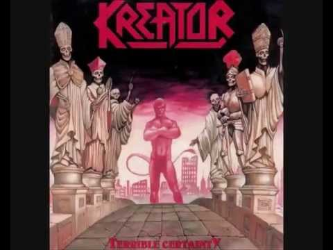 Kreator behind the mirror