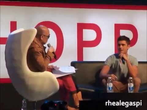 Zac Efron Talks About Vanessa and High School Musical - Penshoppe Fan Con 2012