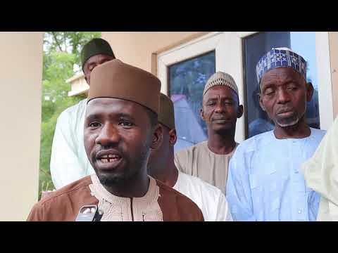 Yayin rakiyar sabon General manager na radio Nigeria pyramid Kano Alh. Abba Bashit
