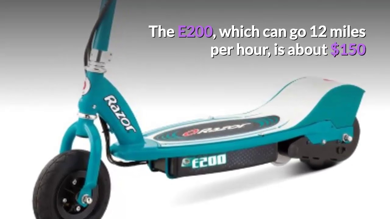 How Much Does A Razor Scooter Cost Youtube