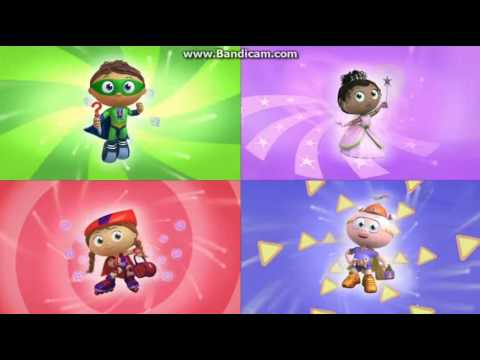 Super Why Theme Song (You've Got the Power! 2012 Version)
