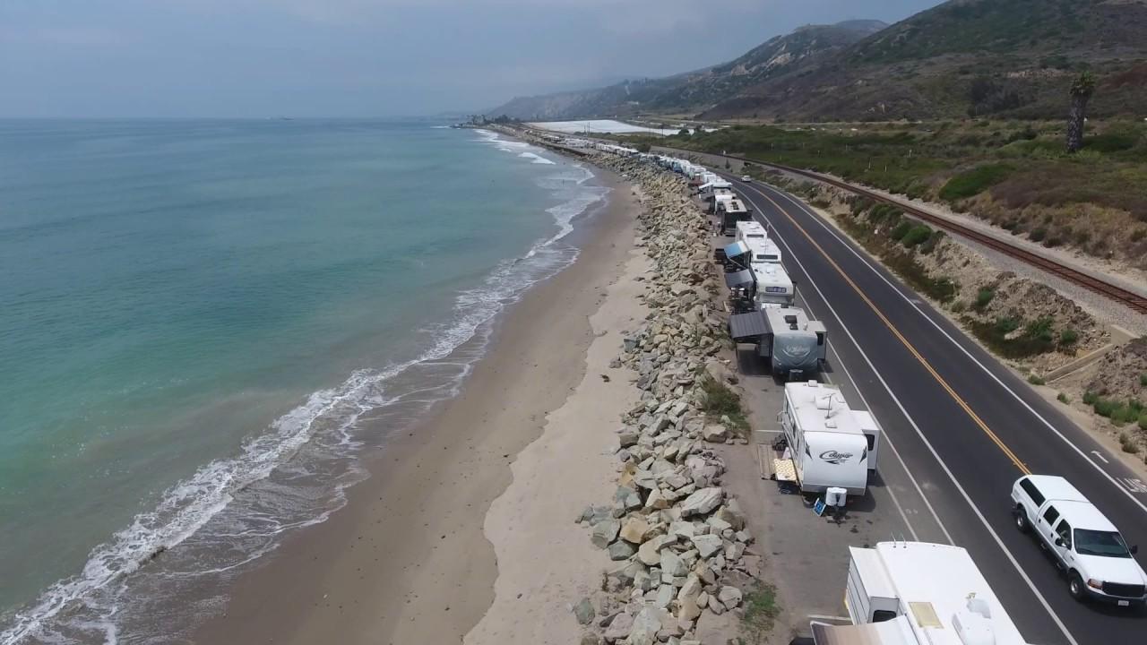 Rincon Parkway Rv Camping Ventura Ca
