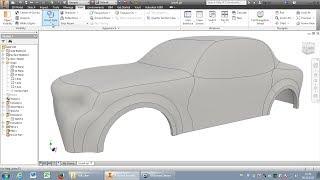 Autodesk Inventor: Car-body (lesson)
