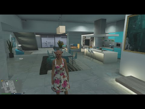 Visite Appartement De Luxe Personnalis  GTA V ONLINE  YouTube