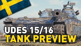World of Tanks || UDES 15/16 - Tank Preview