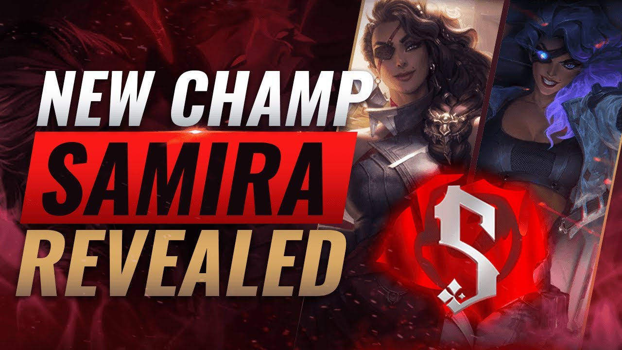 NEW CHAMPION SAMIRA: ALL ABILITIES REVEALED - League of Legends thumbnail