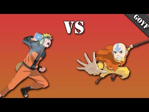 Anime Face Off | Episode.1 Naruto vs Aang