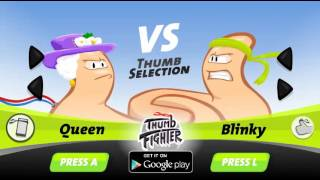 Thumb fighter - Ninja vs Vieja
