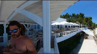 Agora Beach 360 Beach & Restaurant Footage