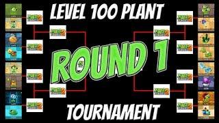 Level 100 Plant Tournament - Round 1 - Plants vs Zombies Epic Tournament Video