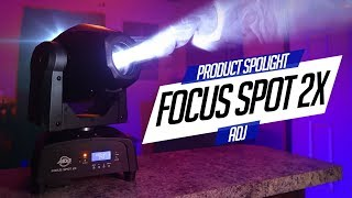 ADJ Focus 2X (Product Spotlight) | The MOST Compact / Powerful Moving Head