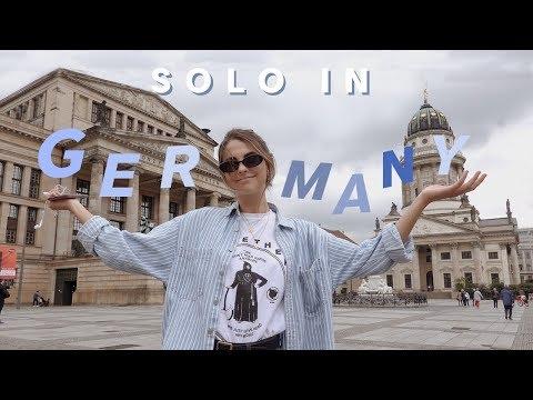 i solo backpacked in berlin, germany!
