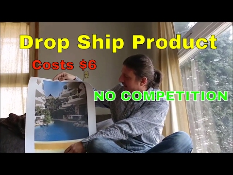 Drop Ship Product/Business Idea Costs $6 & Has NO COMPETITION!!! Great for Photographers & Artists