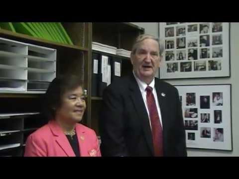 Bob Smith, Karen Testerman and Jack Kimball at the NH State House 13 June 2014