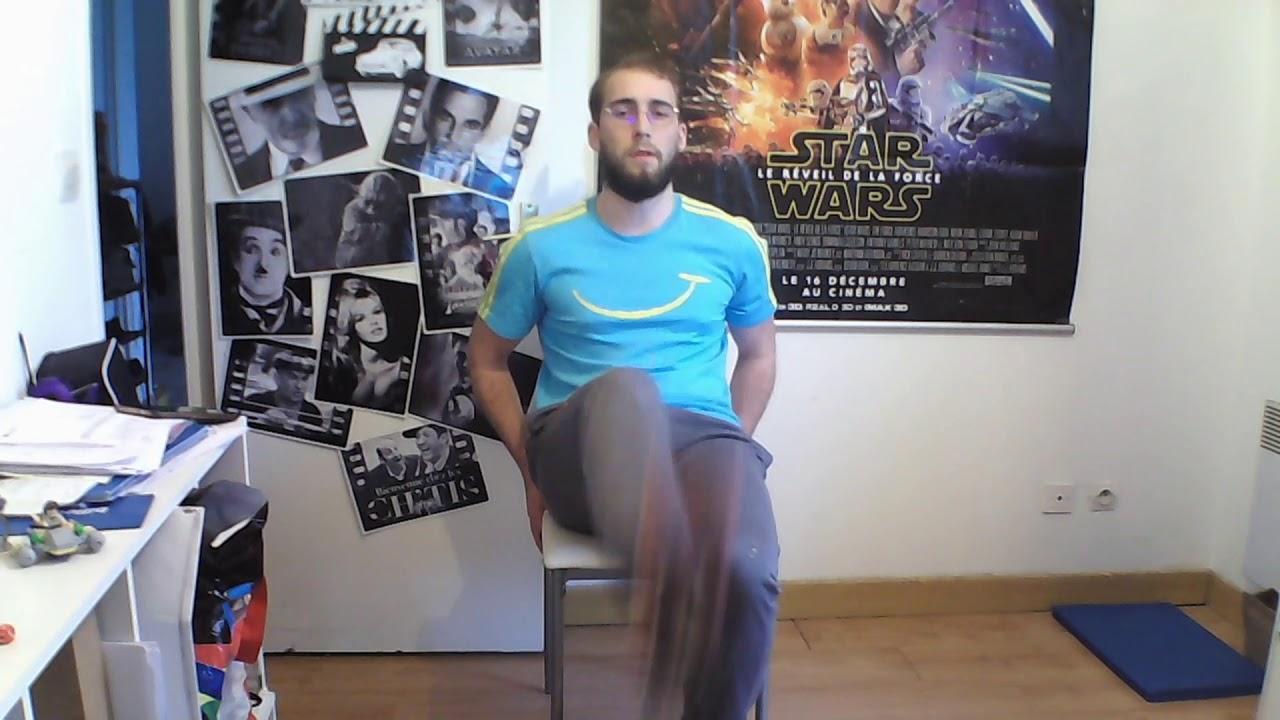 5 min | Les défis d'Adri - épisode 28 : Levées de genoux sur chaise | Sport | Adrien
