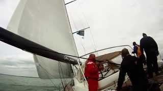 Oyster 885 Sailing