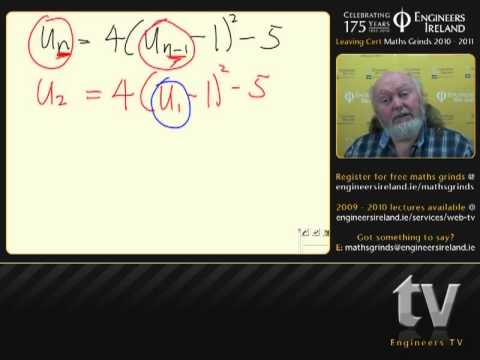 Difference Equations - Leaving Certificate MathsTutorial