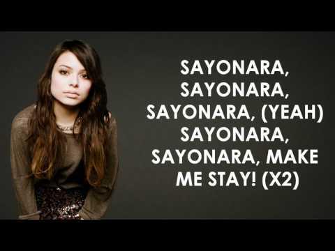 Miranda Cosgrove - Sayonara - Lyrics Video (HD)