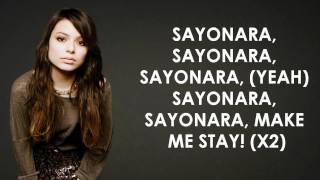 Miranda Cosgrove - Sayonara - Lyrics Video (HD)
