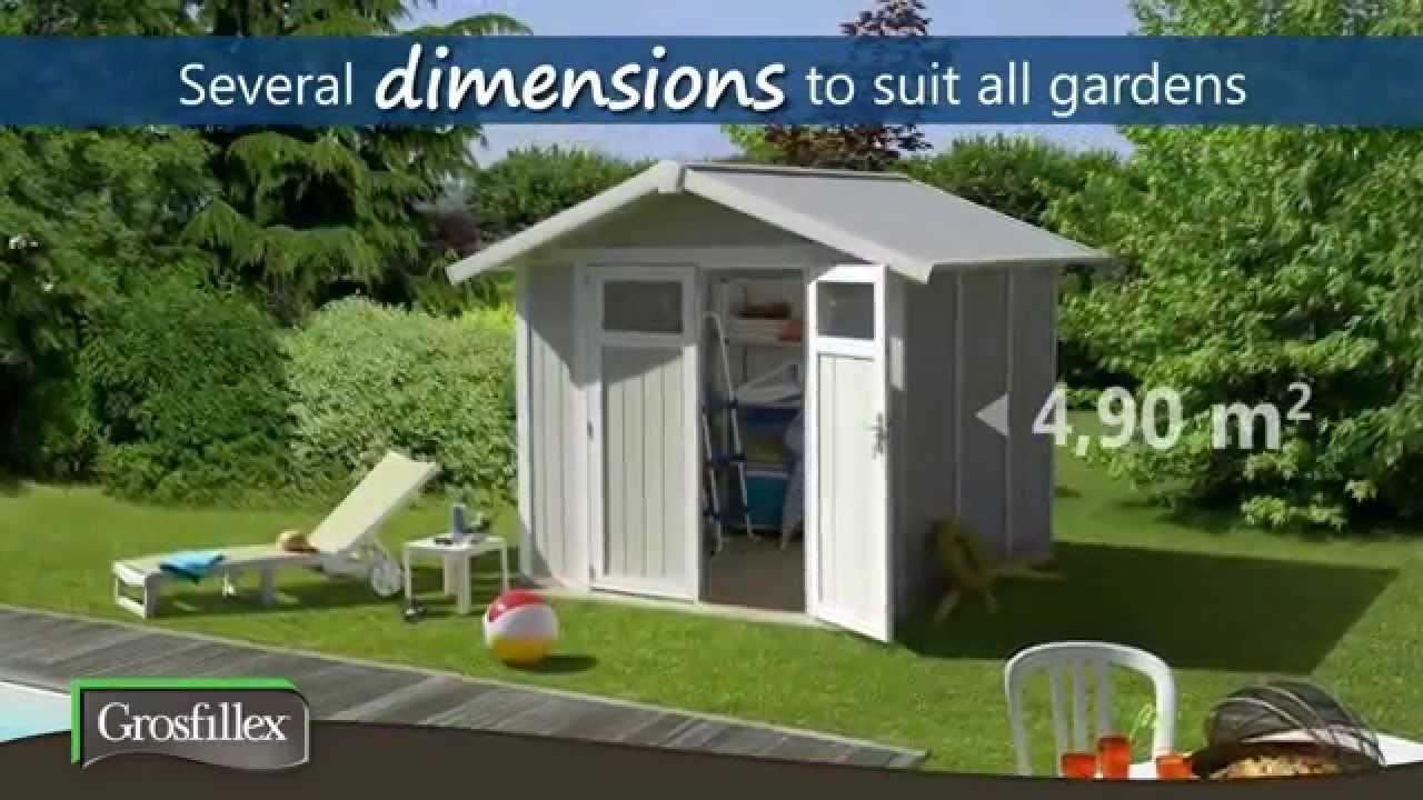 Nice Garden Shed Grosfillex UK