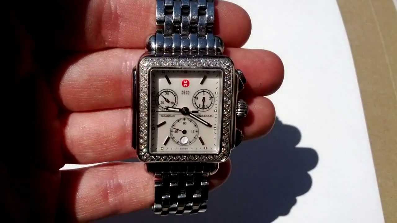 csx quartz itm dial watches watch michele mop diamond petite ladies chronostore