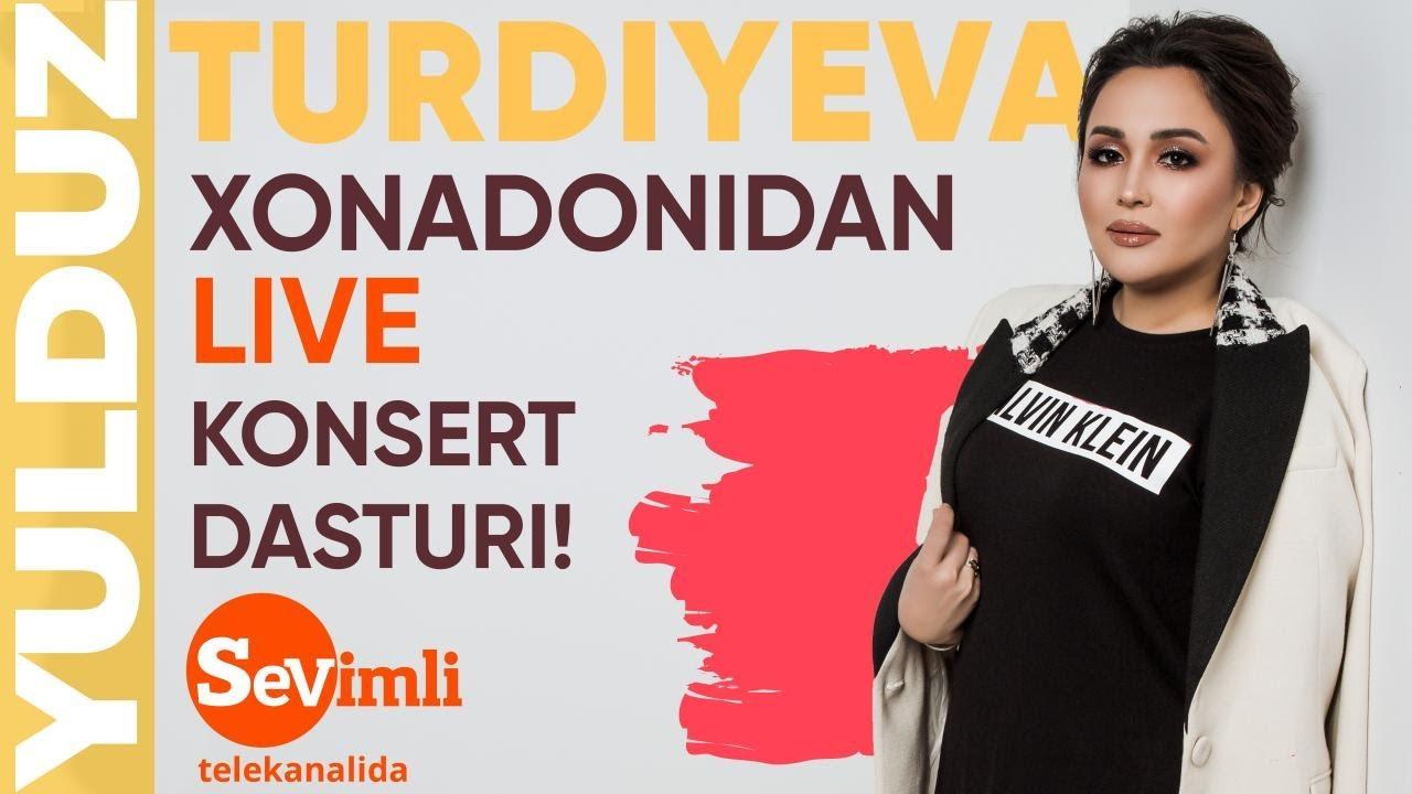 YULDUZ TURDIYEVA xonadonidan LIVE koncert 2020