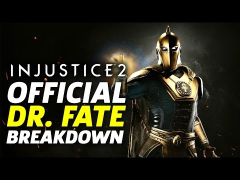 Injustice 2 - Official Dr. Fate Moveset and Breakdown