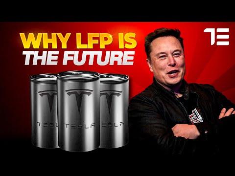 Tesla's Lithium Iron Phosphate Batteries (LFP) Explained