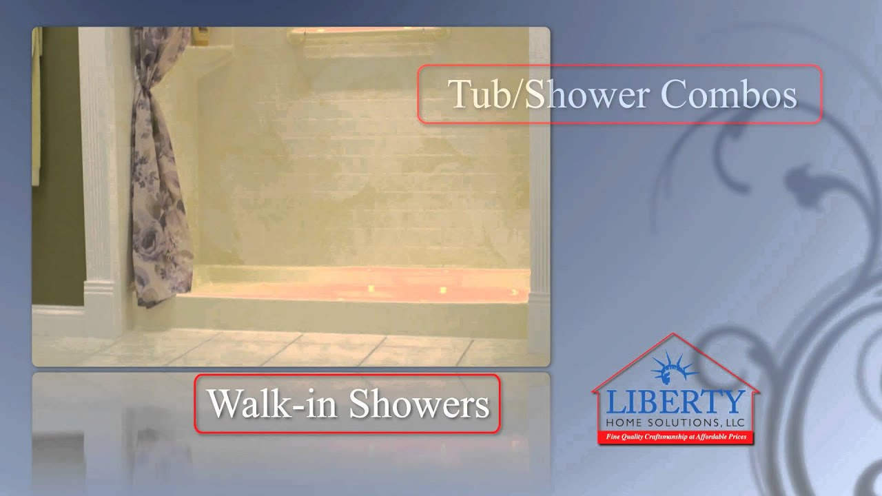 Bathroom remodel bathtubs showers springfield missouri liberty home solutions youtube for Bathroom remodel springfield mo