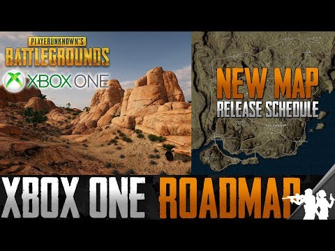 PUBG Xbox One Roadmap Spring 2018 | New Desert Map Miramar Release, Optimization Updates, & Emotes
