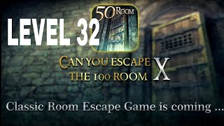 Can You Escape The 100 room X level 32 Walkthrough