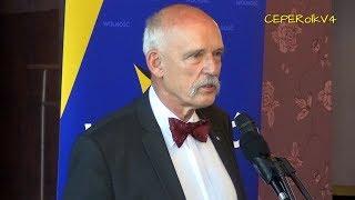 Janusz Korwin-Mikke w Świeciu 12.05.2018 część I