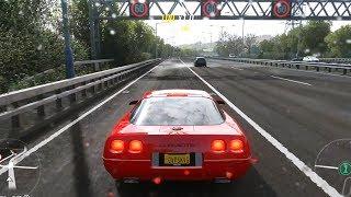Forza Horizon 4 - Chevrolet Corvette ZR-1 1995 - Open World Free Roam Gameplay (HD) [1080p60FPS]