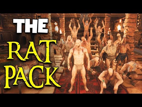 The RAT PACK  -  333k Special  - Conan Exiles
