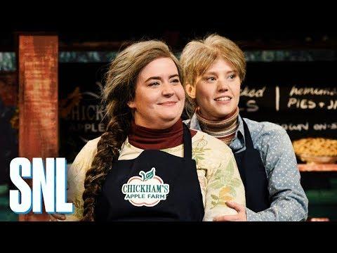 Deanna King - WATCH: SNL Parodies Upstate New York Apple Picking