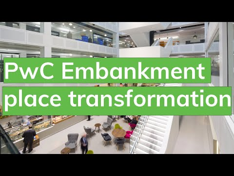 Time-lapse Of PwC Embankment Place Transformation