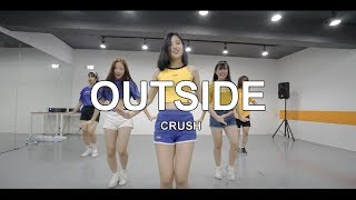 figcaption OUTSIDE - CRUSH / CHOREOGRAPHY - SOOYOUNG CHOI