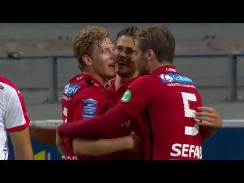 Sammandrag: Norrköping upp i serieledning efter segern mot Kalmar - TV4 Sport