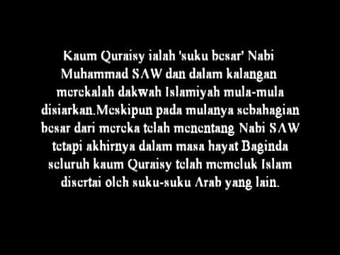 Al Quraisy Terjemahan - Rowansroom