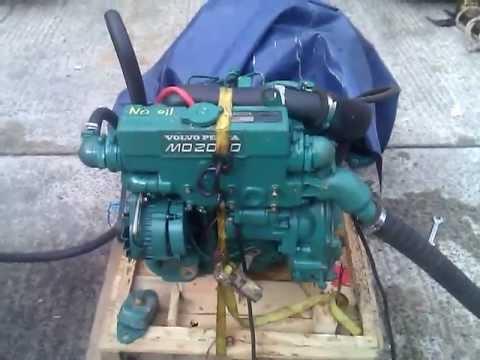 Rebuilt Volvo Penta MD2030 29hp Marine Diesel Engine