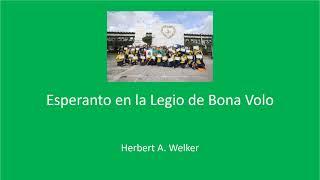 Esperanto en la Legio de Bona Volo