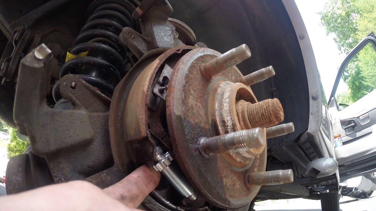 20022010 Ford Explorer Parking Brake Adjustment  YouTube